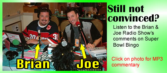 Click here for opinions of radio personalities Brian & Joe