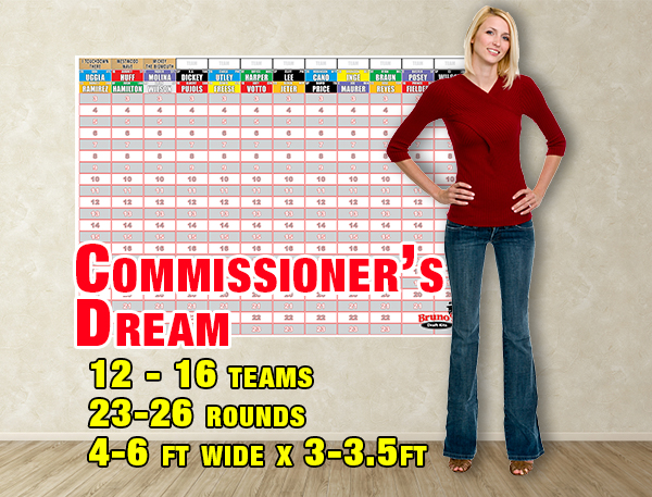 Commissioner's Dream - Football